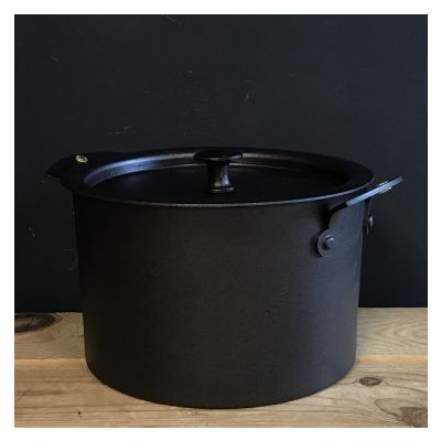 Iron Spun Stockpot Saucepans *due to high demand, 6-8 week delivery time*
