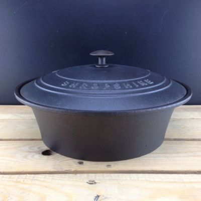 Cast Iron Slow Cooker Casserole Dish *due to high demand, 6-8 week delivery time*