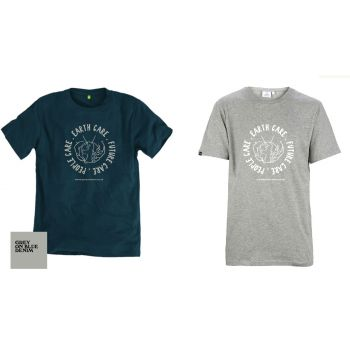 Organic Permaculture T-shirt-Athletic Grey-Female-12