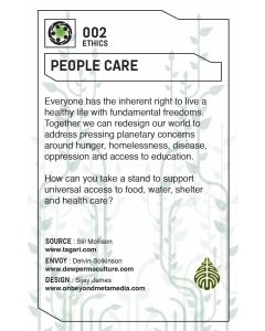 Core Concept Cards: Permaculture Design