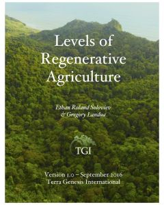 Levels of Regenerative Agriculture