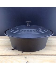 Cast Iron Slow Cooker Casserole Dish
