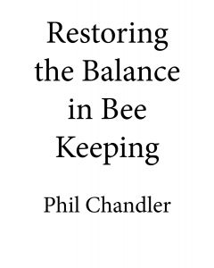 Restoring the Balance in Bee Keeping