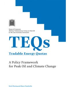 TEQs - Tradable Energy Quotas
